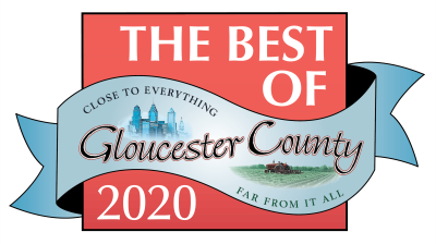 Best of Gloucester County 2018 & 2020 badge